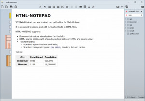 HTML NOTEPAD náhled pro download