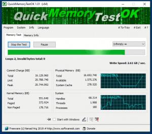 QuickMemoryTestOK náhled pro download