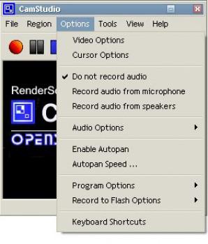 CamStudio náhled pro download