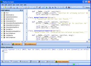 PyScripter náhled pro download