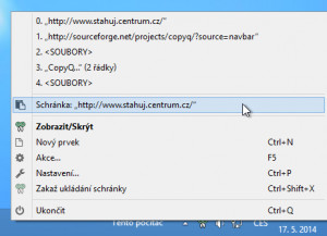 CopyQ Portable náhled pro download
