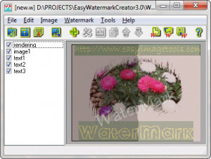 Easy Watermark Creator náhled pro download