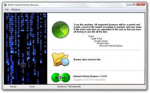 MiTeC Internet History Browser náhled pro download