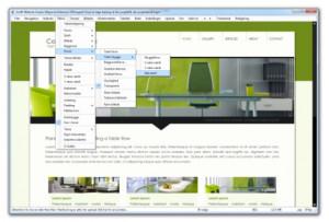 GrafX Website Studio náhled pro download