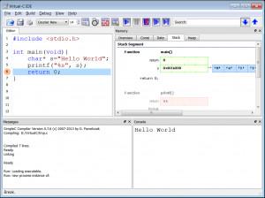 Virtual C IDE náhled pro download