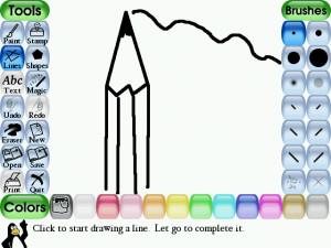 Tux Paint náhled pro download