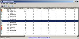 ProcessTCPSummary náhled pro download