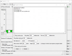 Ping GUI náhled pro download