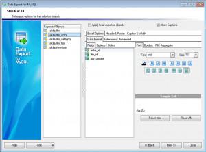 EMS Data Export for MySQL náhled pro download