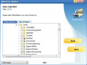 BackUp Maker náhled pro download