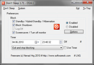 Don't Sleep náhled pro download