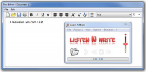Listen N Write Portable náhled pro download