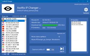 Asoftis IP Changer náhled pro download