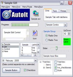 AutoIt SciTE náhled pro download