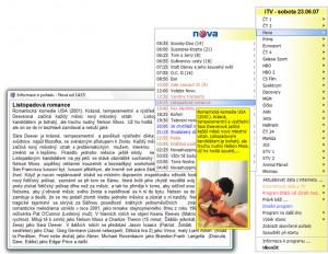 iTV televizní program náhled pro download