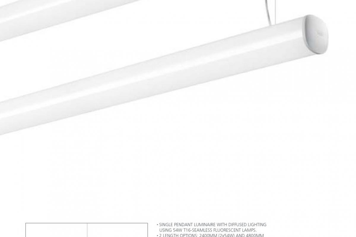 Artemide Architectural Absolu Luminary Pendant Lamp T16 M