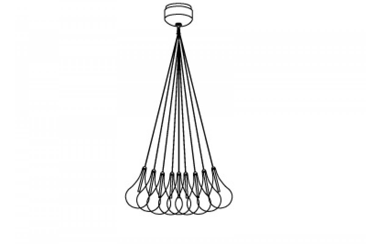 Almalight Drop LED Lámpara colgante G4 1,5W 19 5110-196