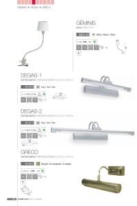 Faro Gminis Lamp Balanced arm lamp with pin 68315A ...