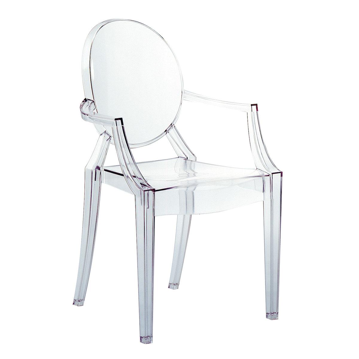 Kartell Louis Ghost silla Transparente Cristal 4853