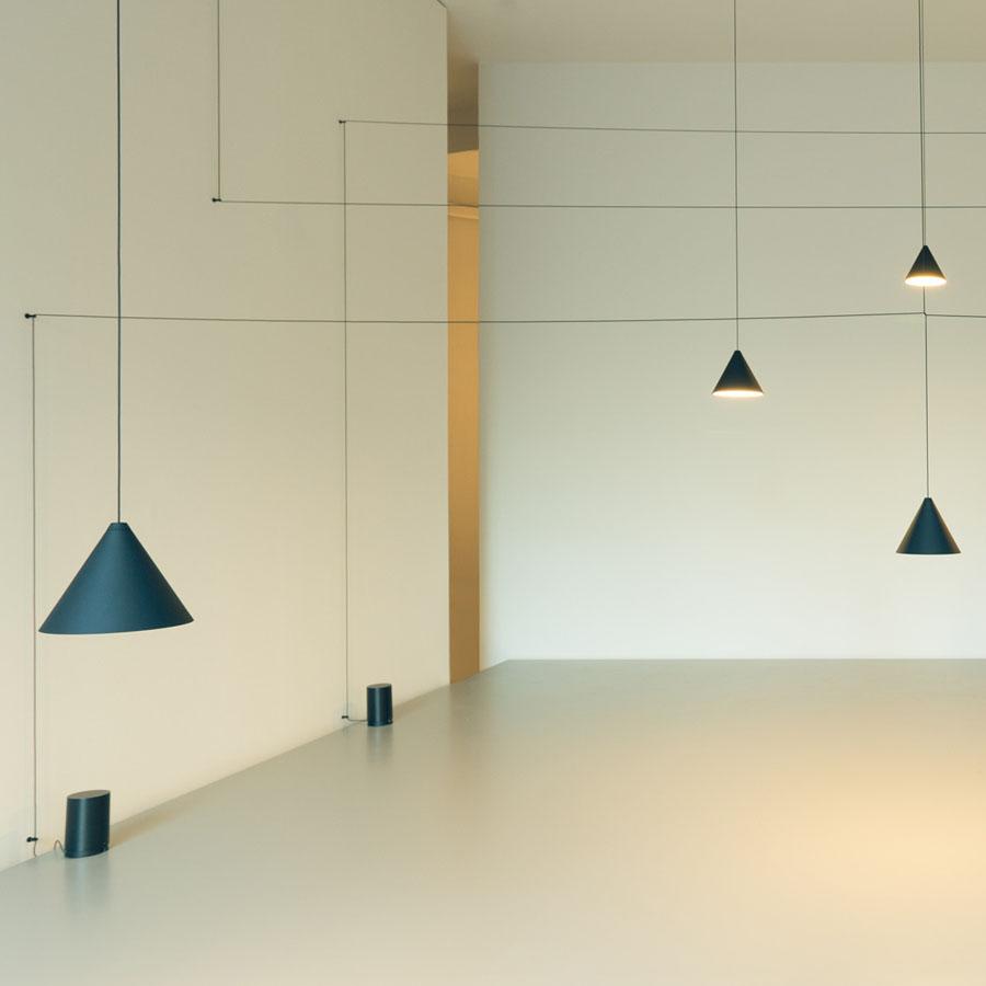 Flos String cono 12 meters LED 26W F6481030  Lmparas de