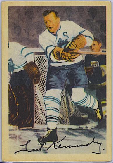 Ted Kennedy - 1953-54 Parkhurst