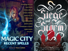 Covers of books Ren just got
