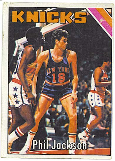 Phil Jackson - 1975-76 Topps Basketball