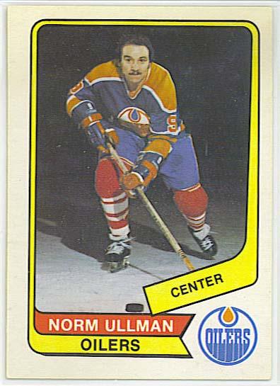 Norm Ullman - 1976-77 OPC WHA