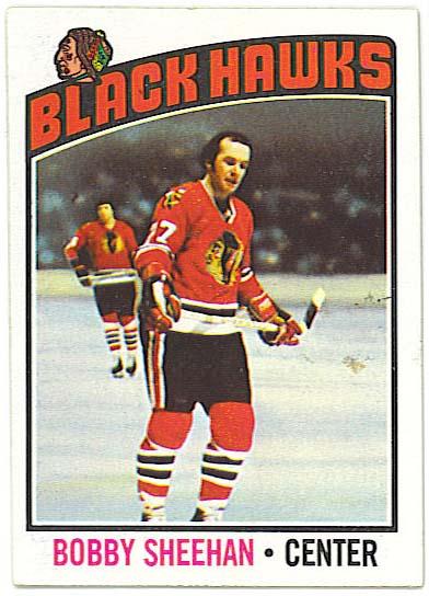 Bobby Sheehan - 1976-77 Topps
