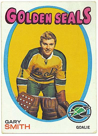 Gary Smith - 1971-72 Topps Hockey