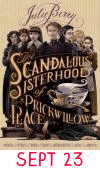 Sept 23: The Scandalous Sisterhood of Prickwillow Place