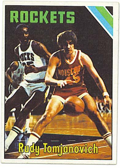 RUdy Tomjonovich - 1975-76 Topps Basketball