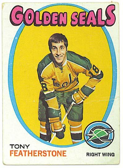 Tony Featherstone - 1971-72 Topps
