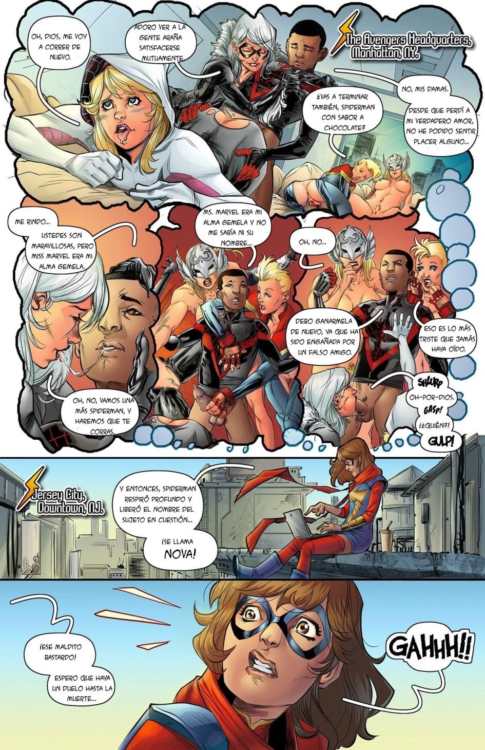 comics xxx en español