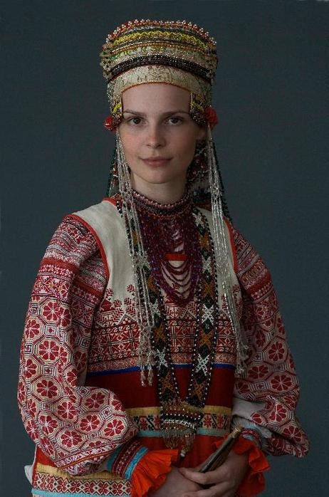 Traditional Russian Dress