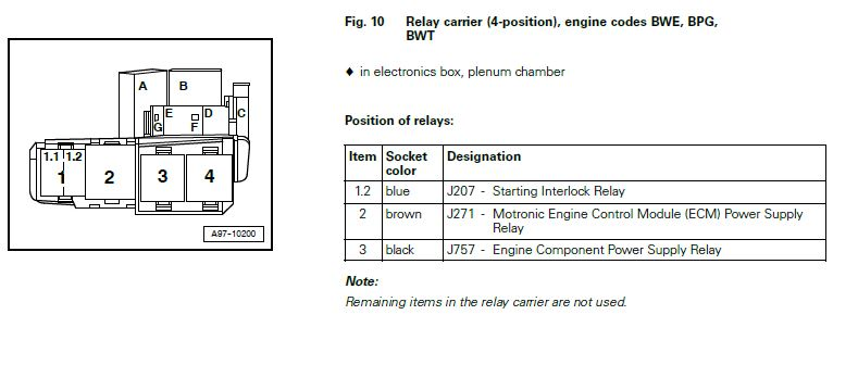 2004 Audi A4 Relay Diagram : 26 Wiring Diagram Images