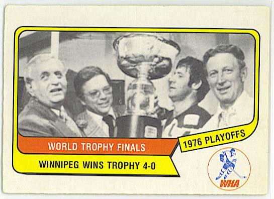 Avco Cup Winner - 1976-77 OPC WHA