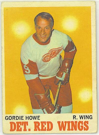 Gordie Howe - 1970-71 OPC