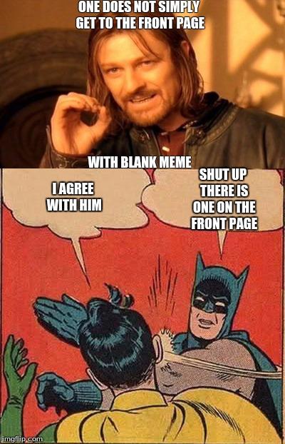 One Does Not Simply Meme Blank : simply, blank, Blank, Memes, Imgflip