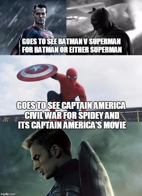 dc vs marvel superman