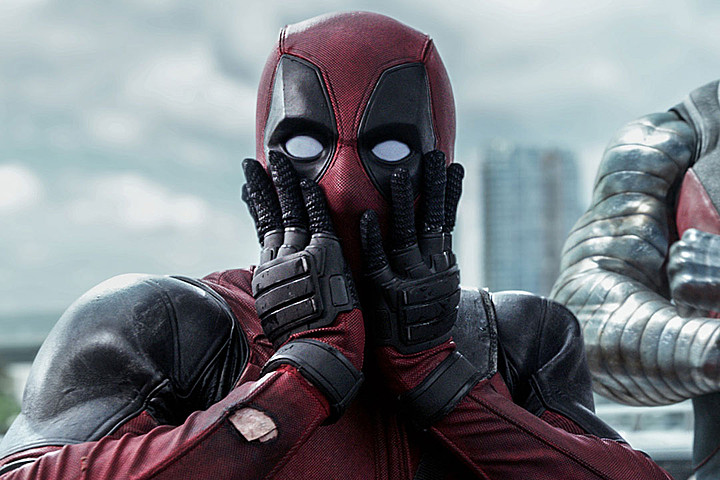 Image result for shocked deadpool
