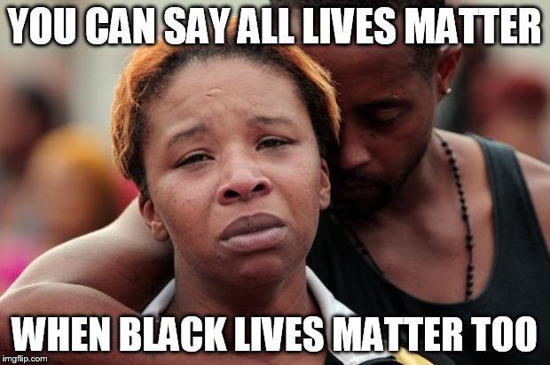 black lives matter imgflip