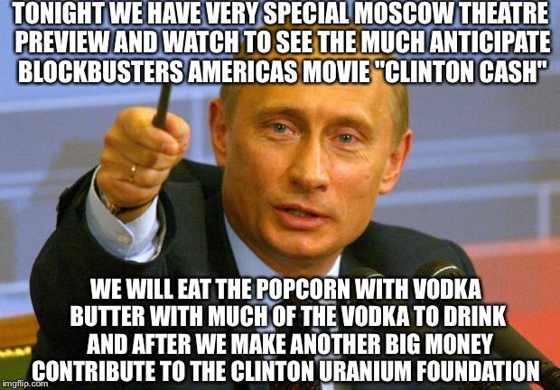 Hillary Clinton Eating Popcorn Meme