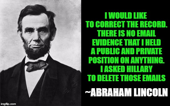 lincoln hillary public private