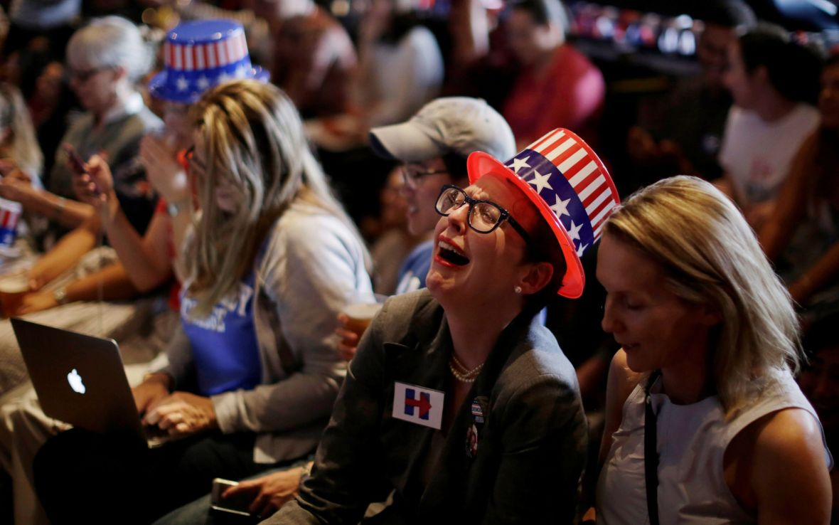 Image result for people crying when hillary loses