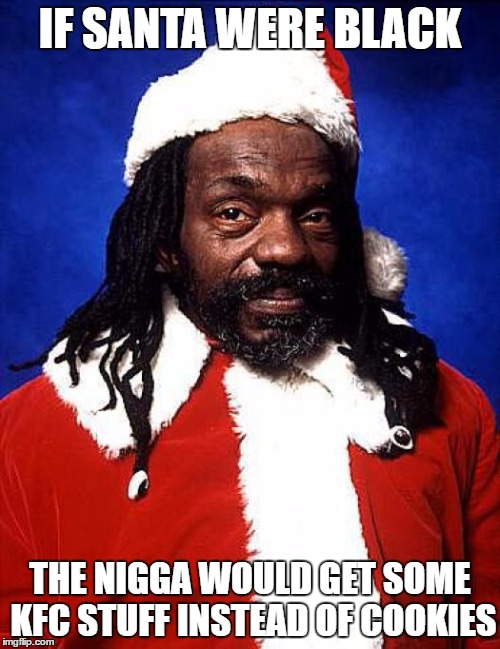 black santa kfc stuff