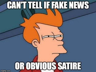 Social media - Fake news meme