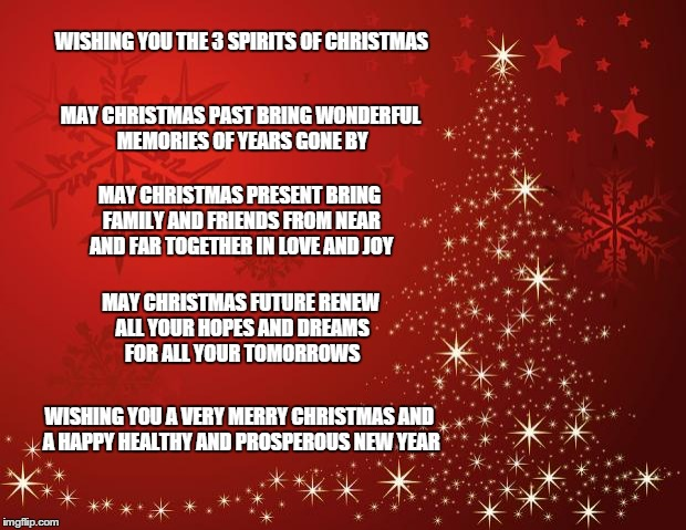 Merry Christmas And Wishes Friends Family