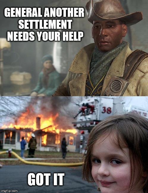 Preston Fallout 4 Meme : preston, fallout, Fallout, Disaster, Imgflip