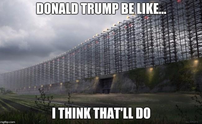 Donald Trump Wall Imgflip